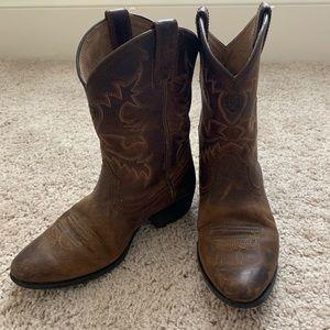 K ARIAT Kids Quickdraw Western Boot Trailblazer